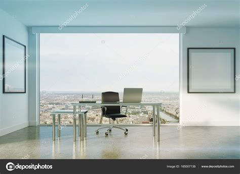 with a city view ceo office with a city view toned stock photo Office