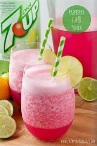 Canada Dry Ginger Ale® and 7UP® Punch Recipes - Eazy Peazy