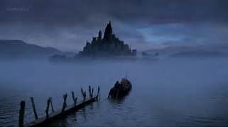 The BBC interpretation of the Isle of the Blessed  which is usually      Isles Of The Blessed Greek Mythology