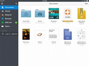 how to get an android style local file system on an iphone With documents app iphone download