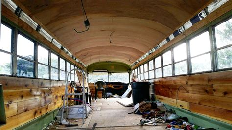 school conversion converting a school bus into an adventure mobile cloudline apparel