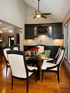 24, Black, And, White, Dining, Room, Designs