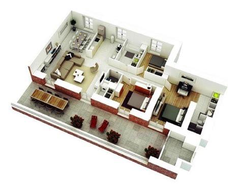 denah  desain rumah minimalis  kamar terbaru