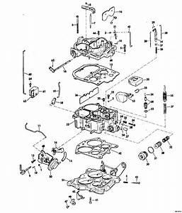 Omc Stern Drive Carburetor Group Rochester Model 7028282