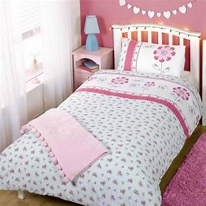 girls twin duvet cover pillowcase bedding ebay With bed covers for twin beds