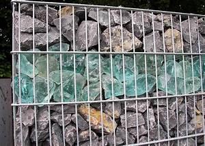 Was Kosten Gabionen Mit Füllung : gabionen f llung mit stein und glas sichtschutz und gartengestaltung ~ Whattoseeinmadrid.com Haus und Dekorationen