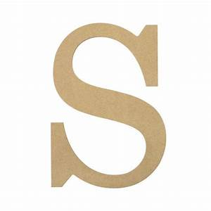 "10"" Decorative Wood Letter: S [AB2043] - MardiGrasOutlet.com"