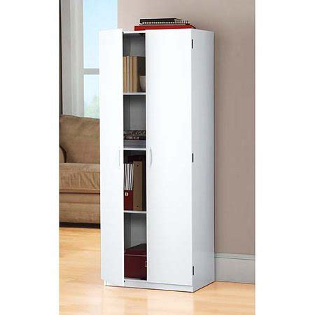 Walmart Kitchen Storage Cabinets by Mainstays Storage Cabinet White Walmart