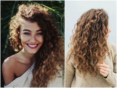 naturlocken lange haare stufenschnitt hairstyles hair