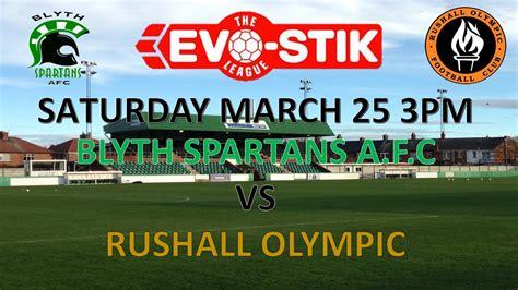 Match Preview | Blyth Spartans v Rushall Olympic | Blyth ...
