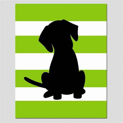 Silhouette Dog Puppy Yorkie Clipart Eyes Clip