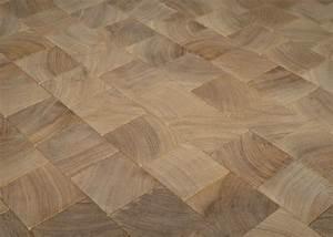 Pavé De Bois : parquet massif pave guatambu bois de bout vieilli huile ~ Premium-room.com Idées de Décoration