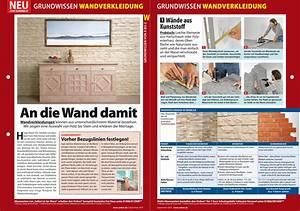 Wandverkleidung Aus Kunststoff : grundwissen wandverkleidung ~ Markanthonyermac.com Haus und Dekorationen