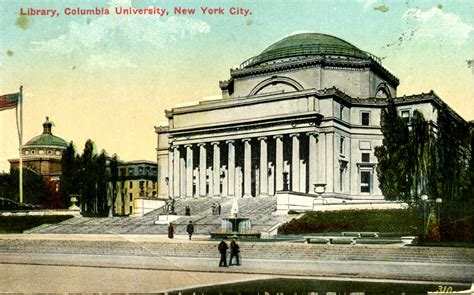 library postcards   library columbia university