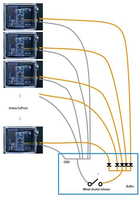 Genlock Wiring Diagram by 複数のgoproを Arduino搭載ガジェット ミュープロで同期できる仕組み みゅ ぷろふぁん