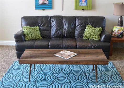 diy modern slat coffee table building plan remodelaholic