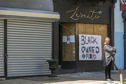 Owned Loot Signs Owners Businesses Philadelphia Protection