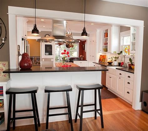 affordable kitchen ideas half wall kitchen designs 13 affordable half wall in