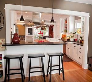 Half Wall Kitchen Designs. love the open shelves on half wall ...