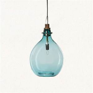 Pendant lighting ideas red green blue glass