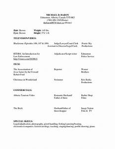 beginner acting resume sample beginner acting resume With how to make a resume for beginners