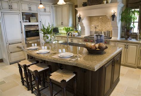 big kitchen island designs 39 fabulous eat in custom kitchen designs
