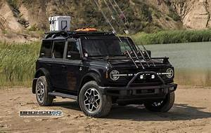 Choose Your Favorite 2021 Ford Bronco Color on the 4-Door Fishing Guide Concept - autoevolution