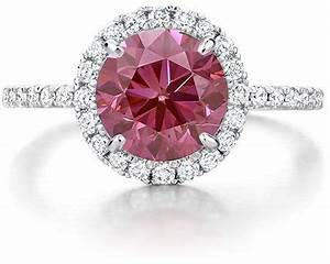 Pink engagement rings brilliant earth for Pink diamond wedding rings