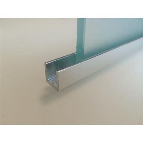 table de cuisine en verre trempé profil pour cloison de en verre longueur 3ml