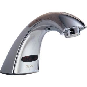 Delta Touchless Faucet by Delta Commercial Battery Powered Touchless Lavatory Faucet