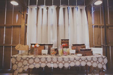 here are a few more ideas for adding tulle to your wedding s decor