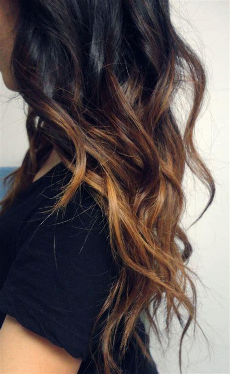 Long Dark To Light Ombre Hair Hair Colors Ideas