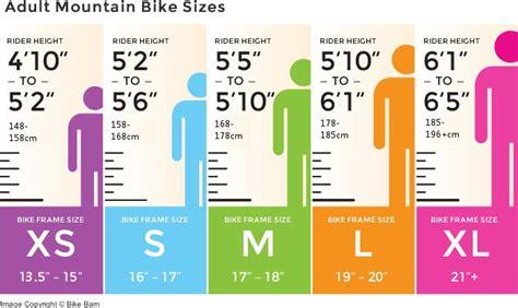 mountain bike sizing chart mountain bike mountain bike frames mongoose mountain bike
