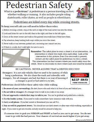 empowered   pedestrian safety life skills