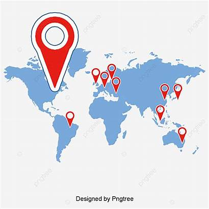Map Location Vector Psd Locate Clipart Transparent