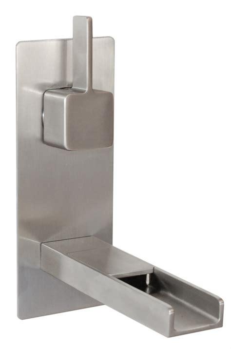 waterfall faucet brushed nickel cascada waterfall wall mount faucet in brushed nickel