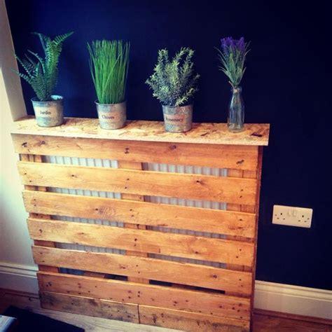 Pallet furniture, radiator cover , Kitchen design.   Home