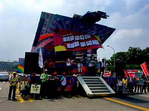 2018 International Workers' Day Protests In Taiwan Call ...
