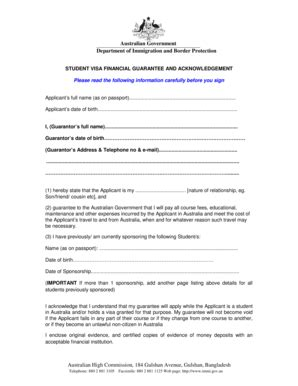 Guarantor Form - Fill Online, Printable, Fillable, Blank