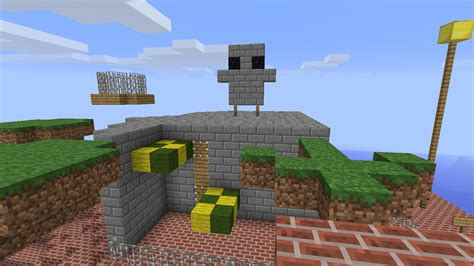 Whomp's Fortress Built In Minecraft