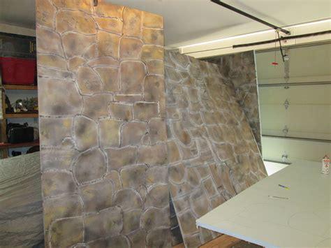 faux stone panels   polystyrene aka styrofoam
