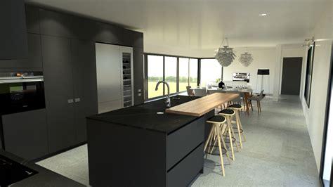 magasin de cuisine vannes trendy cuisine moderne haut de gamme design gris