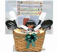 christmas kitchen gift basket ideas