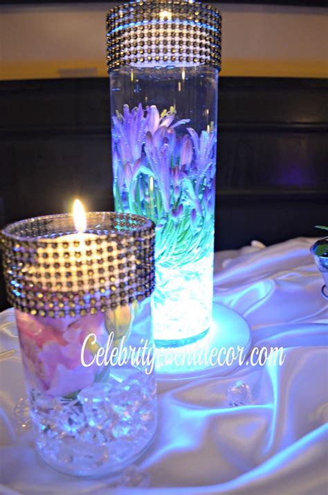 Sweet Table Vases by Event Decor Banquet Llc