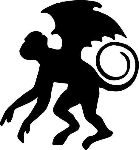 flying monkey wizard  oz characters wizard  oz
