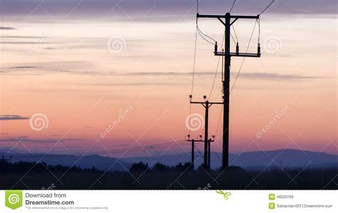 utility poles stock photo image