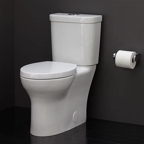 flow toilet lyndon  piece elongated dual flush