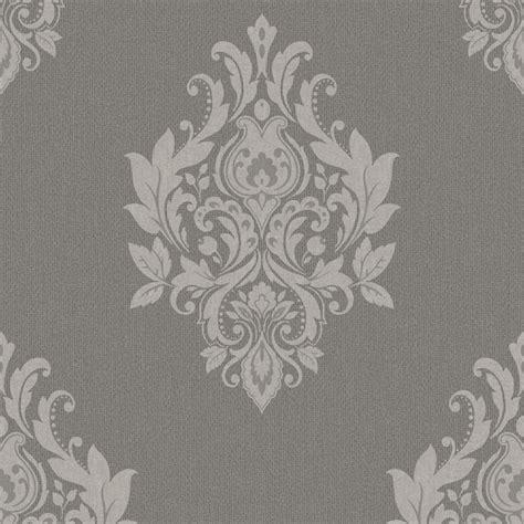 tapete barock grau tapeten trendy classics tc 56301 papier neu barock ornamente grau braun ebay