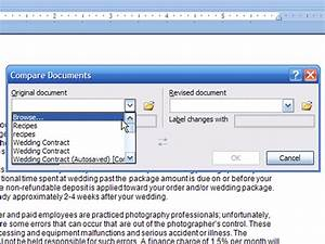 how to compare document versions in word 2007 dummies With compare documents word 2007