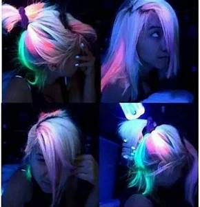 Glow in the Dark Hair Color Is one of the latest lit hair